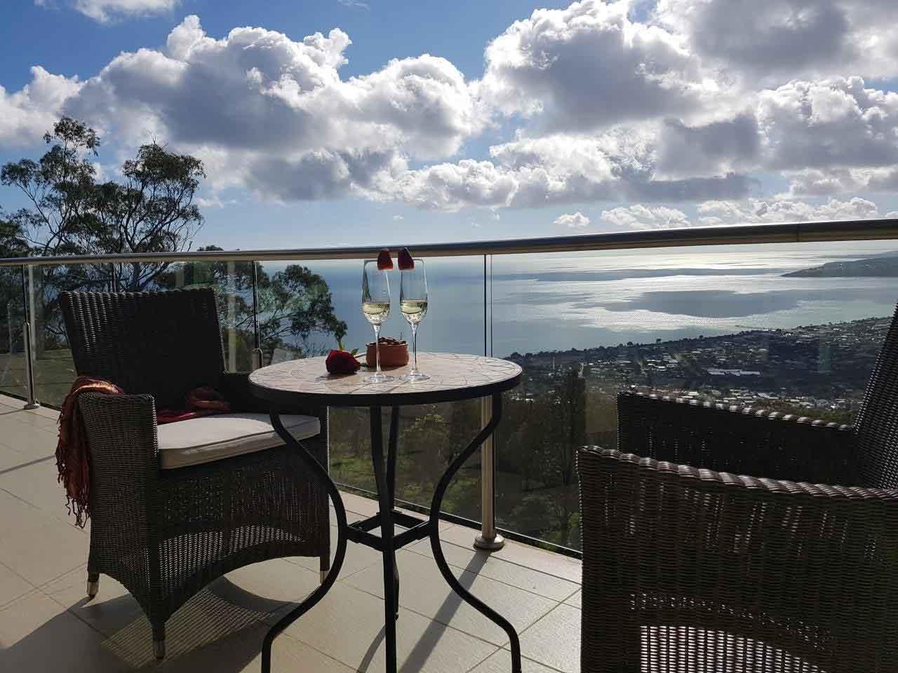 Arthurs Views Bed & Breakfast Balcony View