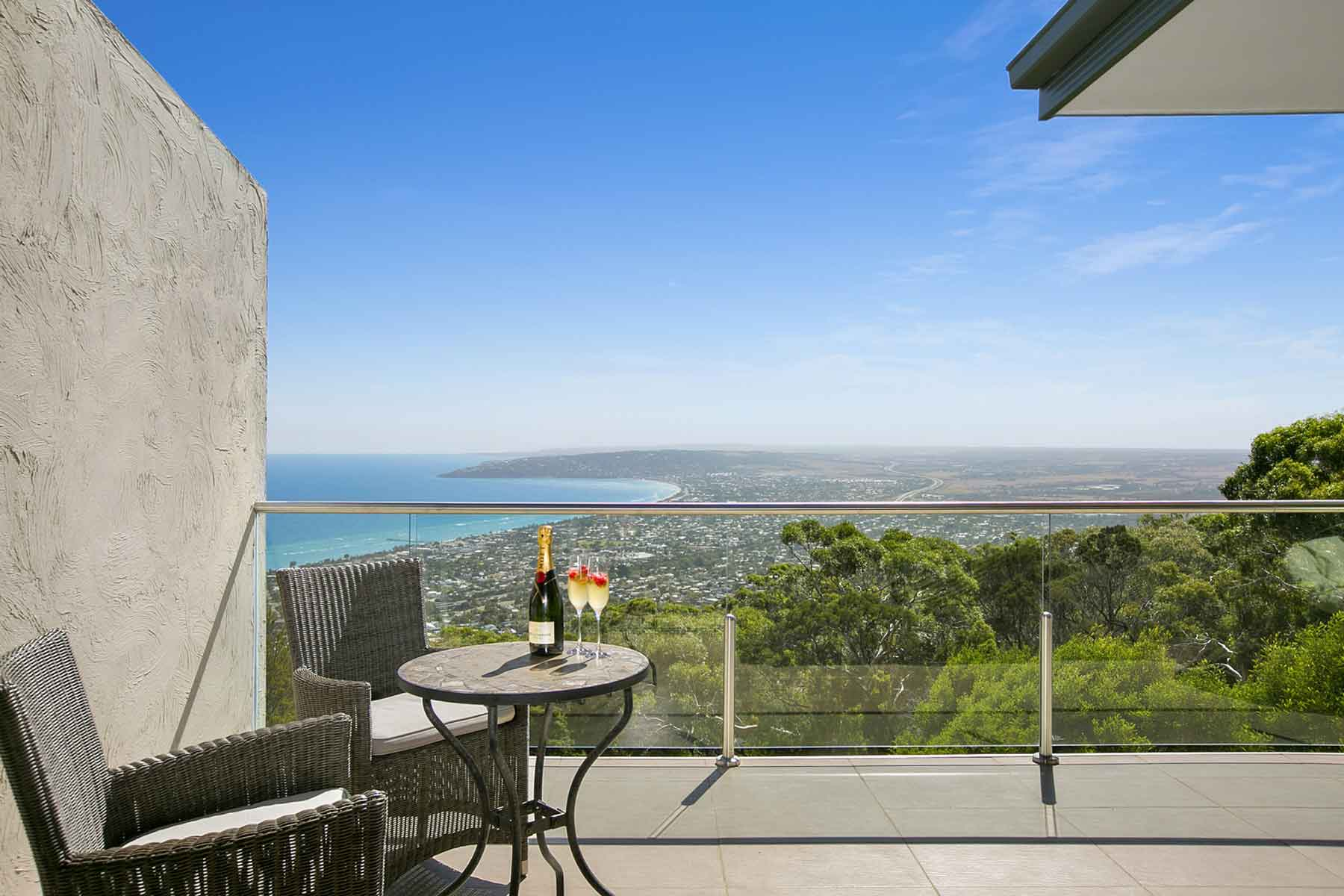 View from 'Arthurs Views' Luxury accommodation on the Mornington Peninsula